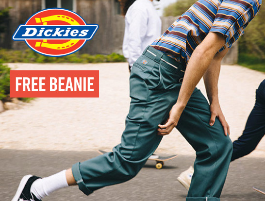 Free Beanie with Dickies