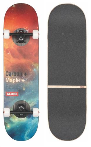 "Globe G3 bar Skate Complete, Impact/Nebula, 8.125"""