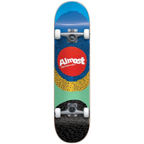 Almost Radiate FP Skate Complete, Blue
