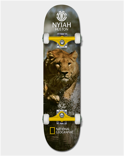 Element NAT GEO NYJAH LION  SKATE COMPLETE