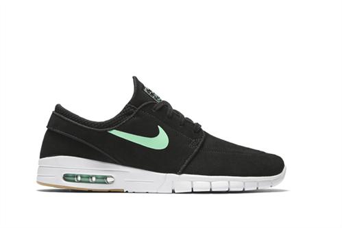Nike Stefan Janoski Max Leather Skateboarding Shoe