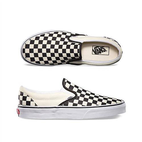 Vans CSO Slip on shoe, Black White Checker/White