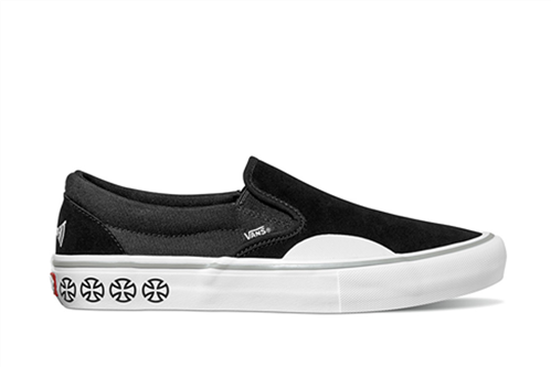 Vans Slip-On Pro Shoes, (Independent) Black White