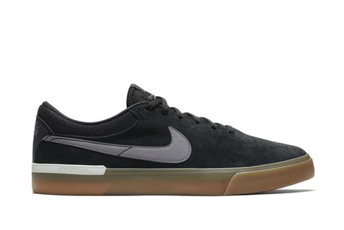 Nike SB Hypervulc Eric Koston Skateboarding Shoe, Black Gunsmoke Vast Grey White