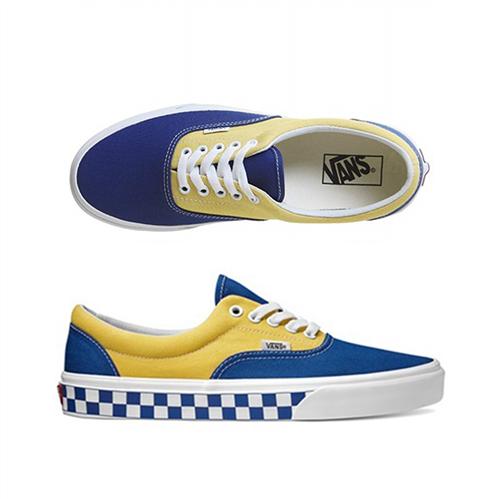 Vans ERA (BMX CheckB) T Shoe, Blue Yellow