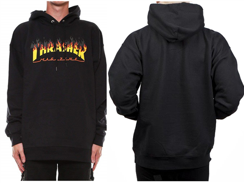 Thrasher BBQ Hood, Black