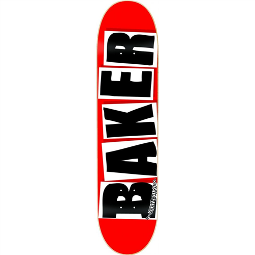 "Baker Brand Logo Deck, Size 8.1"""