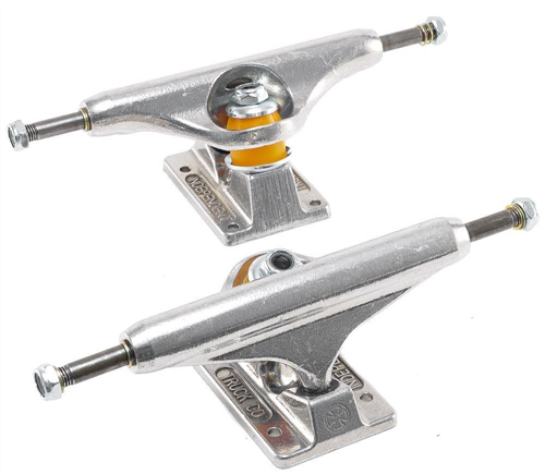 Independent 159 - Standard Polished Silver - Pair