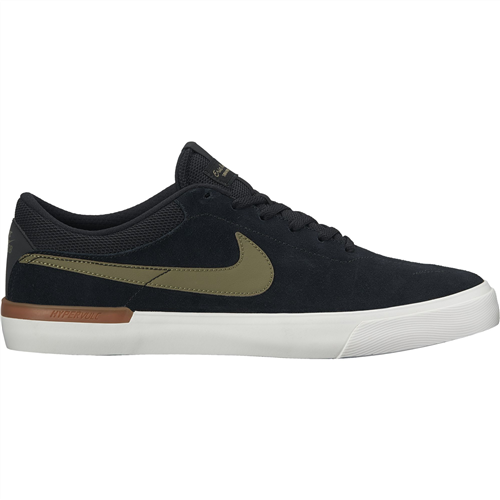 Nike Sb Hypervulc Eric Koston Shoe, Black Olive White