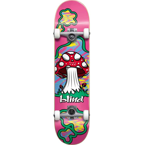 """Blind Shroom Land FP Skate Complete, Pink 8.1"""""""