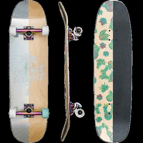 """Globe Half Prism Skate Longboard, Natural Cactied, 8.75"""" x 32"""""""