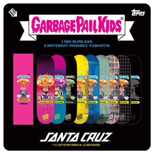 "Santa Cruz Garbage Pail Kids Team 31.8"" x 8.25"" Deck"
