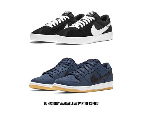 "Nike SB Ultimate Dunk ""Midnight Navy"" Combo"