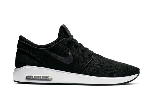 Nike Sb Air Max Janoski 2 Shoes, 001, Anthracite Black White