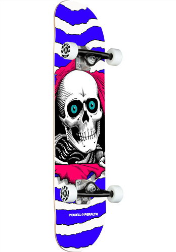 """Powell Peralta Ripper One Off Purple Skate Complete, 7.75"""""""