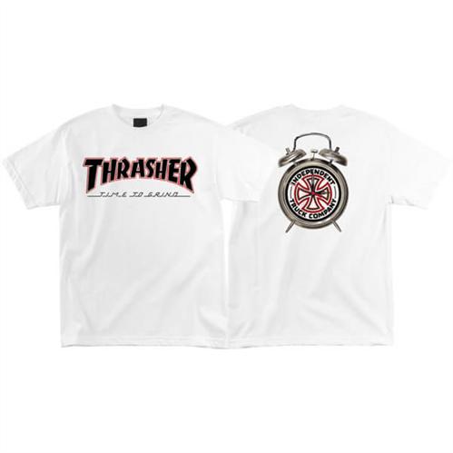 Thrasher TTG Short Sleeve Tee, White