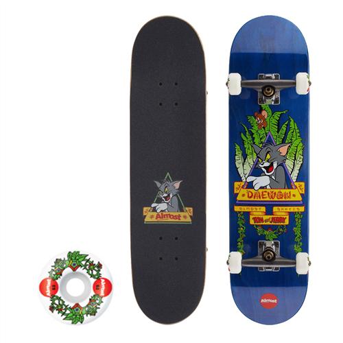 Almost Tom Panther Complete Skateboard, Blue