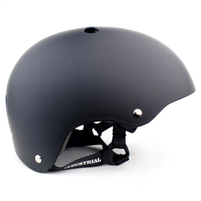 Industrial Skateboard Helmet, Black Large