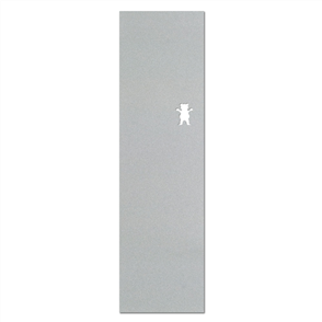 "Grizzly Clear Cutout 10"" Griptape, Clear"