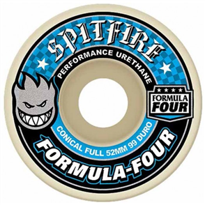 Spitfire SKATE WHEELS F4 99D CONCL FULL, 56mm