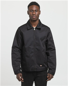 Dickies Eisenhower Lined Jacket, Black
