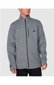 Billabong ADIV MAINLAND ZIP THRU FLEECE, TECH MARLE