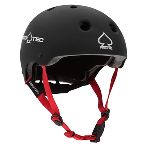 Protec Jr Classic Fit Certified Helmet, Matte Black