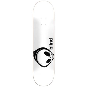 Blind Whitey Reaper RHM Deck, White