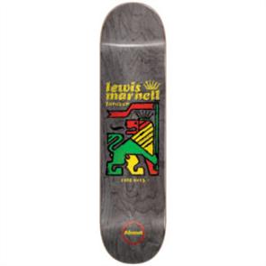 Almost Rasta Lion R7 Skate Deck, Lewis Marnell