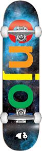 Enjoi New Spectrum Space Complete Skateboard, Space