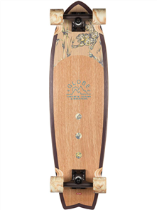 Globe Chromantic Skate Cruiser, White Oak/Jaguar