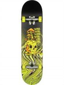 Globe G1 Nature Walk Skate Cruiser, Black/Toxic Yellow
