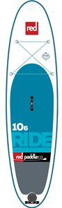 "Red Paddle Co 10'6"" Ride Inflatable Sup 2017 Model"