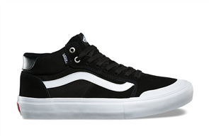 Vans Style 112 Mid Pro Black/White