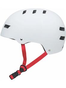 Globe Slant Free Ride Skate Helmet, Matte White