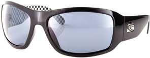 Carve CHECKMATE Polarised Sunglasses, Black