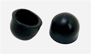 Globe Pivot Cups Regular 2pk, Black