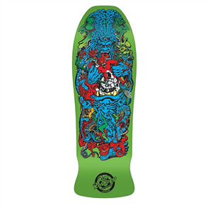 Santa Cruz Roskopp Rob Target 5 Green Fluro Reissue Size 10.125