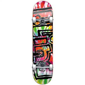 Blind Heady Tie Dye Complete Skateboard, Multi 8.25""