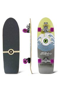 "SmoothStar Holy Toledo 33"" Surf Skateboard, Holy Toldeo"