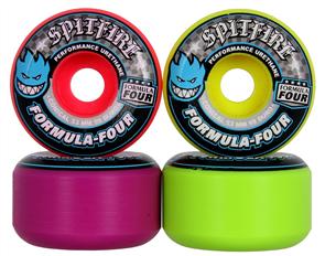 Spitfire Wheels Formula Four 99 Razzle, 4 Colors