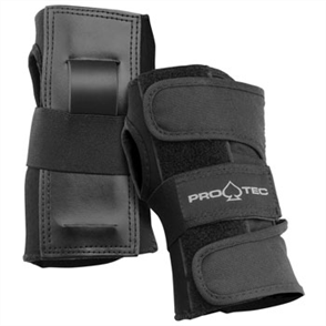 Protec Wrist Guards, Black