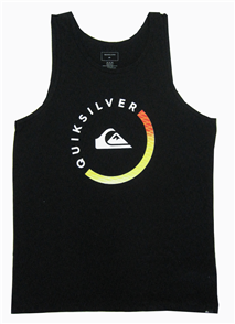 Quiksilver Slab session tank Mens Tees, Black