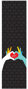 Enjoi Heart Hands Grip Tape