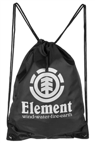 Element Buddy Cinch Bag, Flint Black