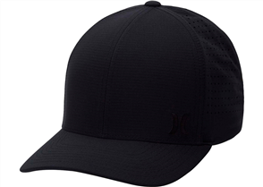 Hurley Phantom Ripstop Hat, Black