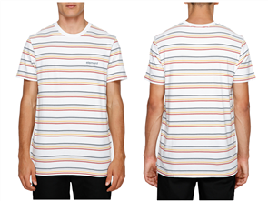 Element Venice Stripe Short Sleeve Tee, White