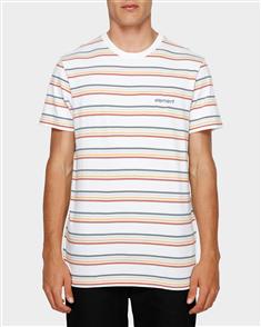 Element Venice Stripe Short Sleeve Tee, White