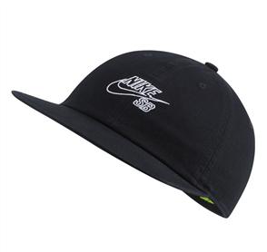 Nike U H86 CAP FLATBILL GFX, BLACK/WHITE