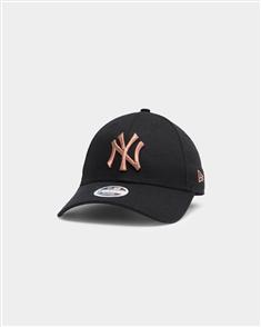 NewEra NEW YORK YANKEES 9FORTY A-FRAME Cap, BLACK/ BRONZE